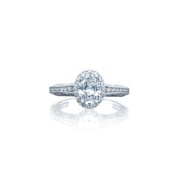 Tacori Oval Diamond Ring Mounting Polly's Fine Jewelry N. Charleston, SC