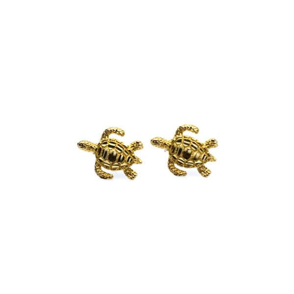 Small Turtle Studs Polly's Fine Jewelry N. Charleston, SC