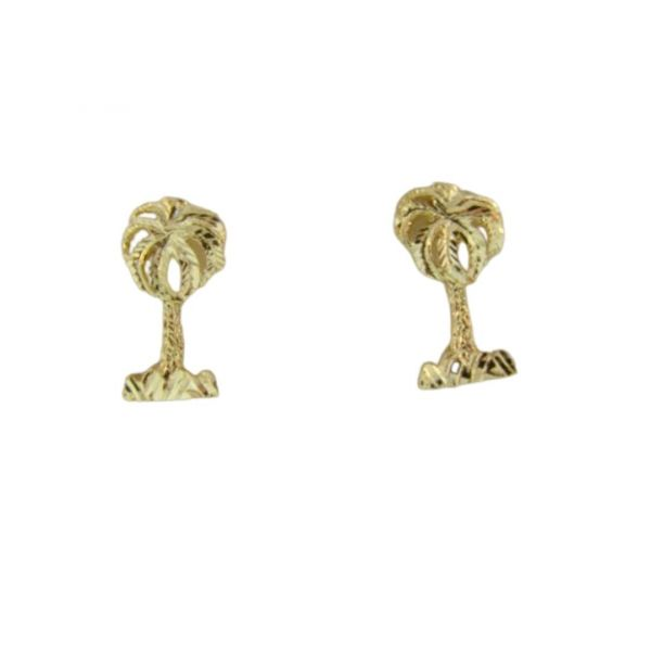 Palm Tree Earrings Polly's Fine Jewelry N. Charleston, SC