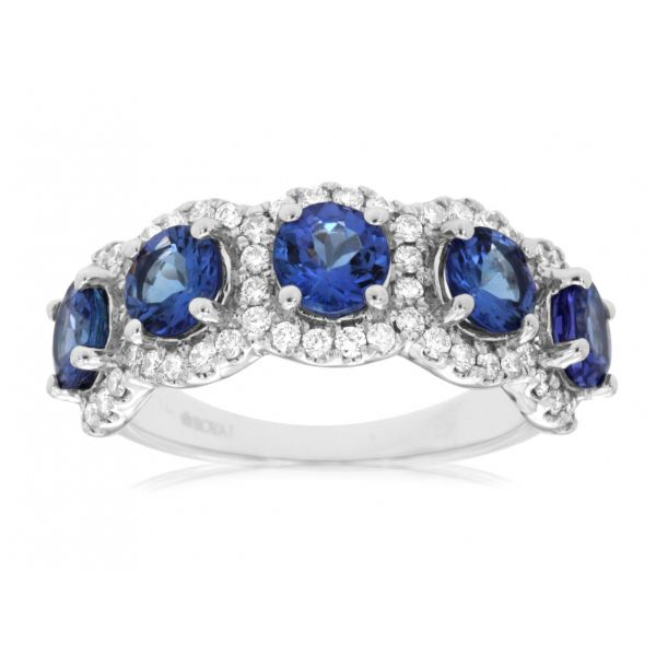White Gold Tanzanite & Diamond Ring Polly's Fine Jewelry N. Charleston, SC