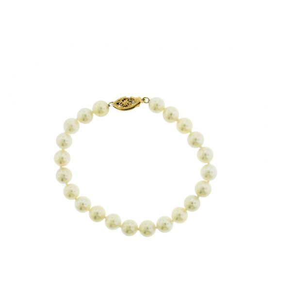"7"" Cultured Pearl Bracelet  Polly's Fine Jewelry N. Charleston, SC"