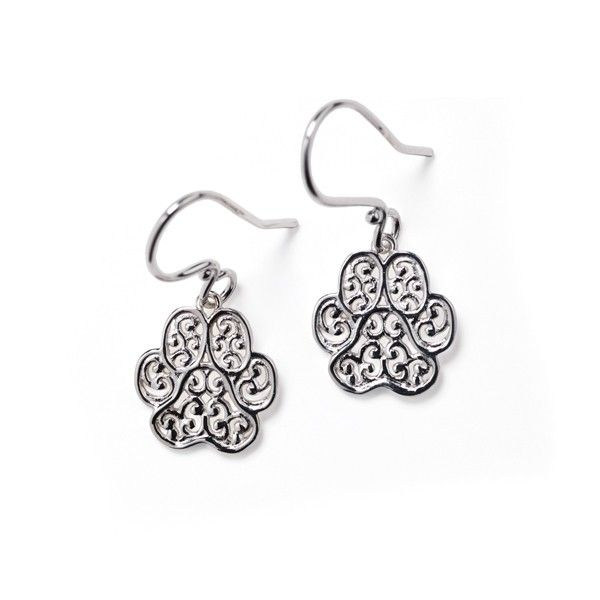 Gate Lucy Paw Print Earrings Polly's Fine Jewelry N. Charleston, SC