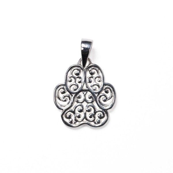 Gate Lucy Paw Print Pendant Polly's Fine Jewelry N. Charleston, SC