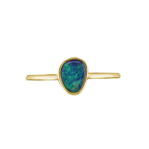Australian Opal Doublet Ring Polly's Fine Jewelry N. Charleston, SC