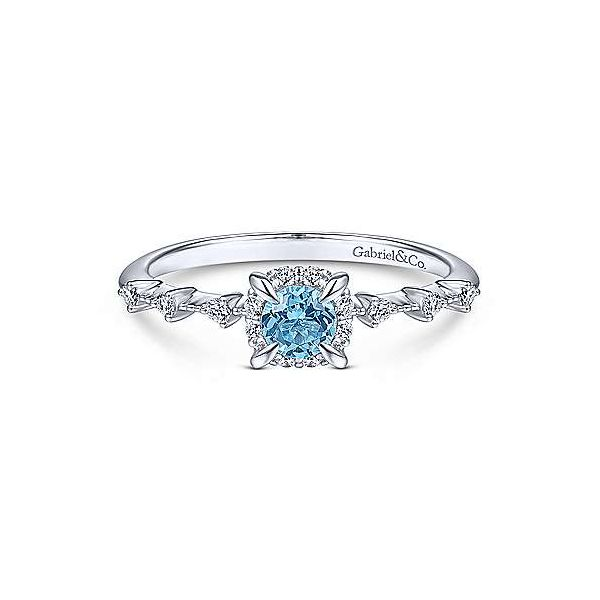 Swiss Blue Topaz Fashion Ring Polly's Fine Jewelry N. Charleston, SC