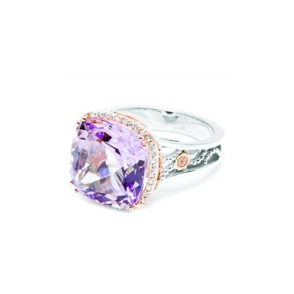 Rose Amethyst Ring Polly's Fine Jewelry N. Charleston, SC