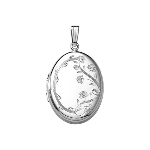 Sterling Silver Locket Polly's Fine Jewelry N. Charleston, SC