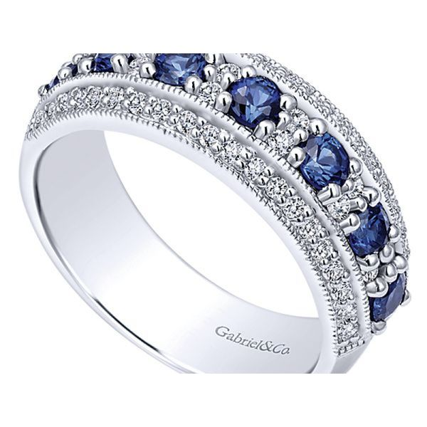 Ladies Sapphire Fashion Ring Image 2 Polly's Fine Jewelry N. Charleston, SC
