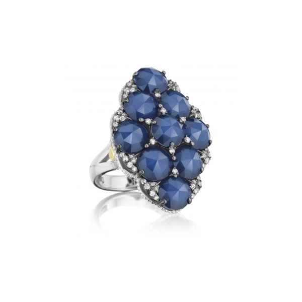 City Lights Pave Gem Cluster Ring Polly's Fine Jewelry N. Charleston, SC