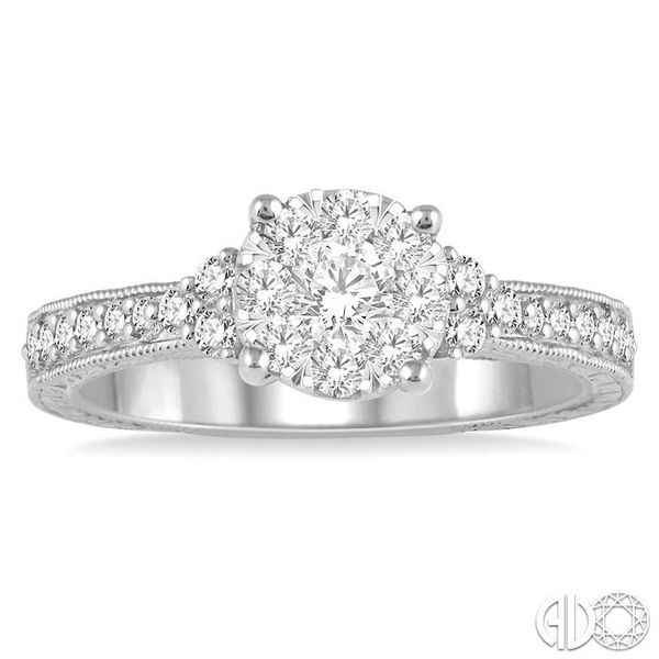 LOVEBRIGHT DIAMOND RING Image 2 Robert Irwin Jewelers Memphis, TN