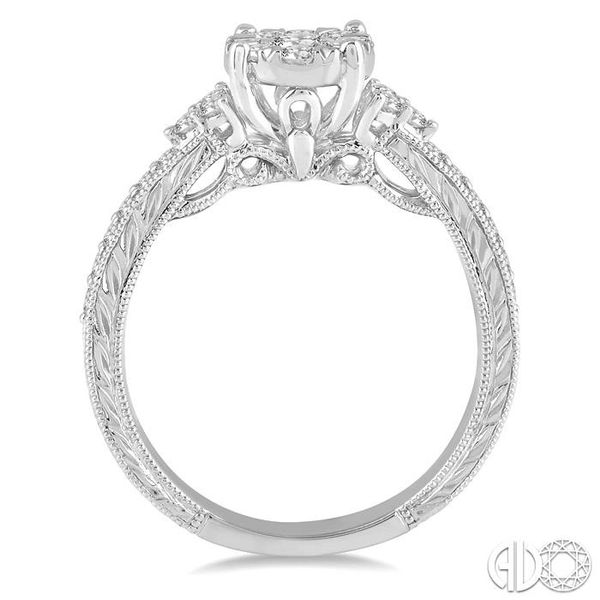 LOVEBRIGHT DIAMOND RING Image 3 Robert Irwin Jewelers Memphis, TN