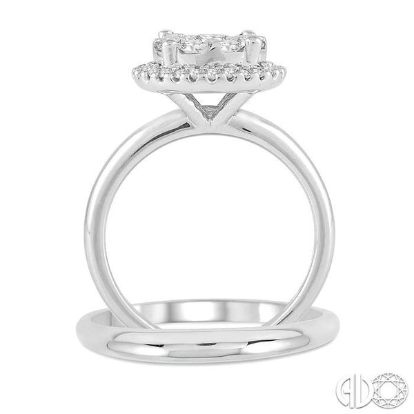 LOVEBRIGHT BRIDAL DIAMOND WEDDING SET Image 3 Robert Irwin Jewelers Memphis, TN
