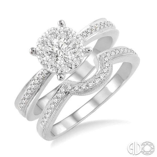LOVEBRIGHT BRIDAL DIAMOND WEDDING SET Robert Irwin Jewelers Memphis, TN