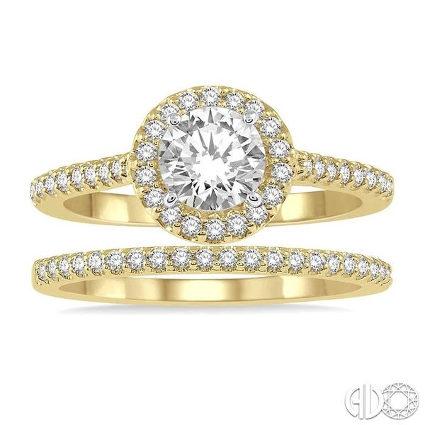 DIAMOND WEDDING SET Image 2 Robert Irwin Jewelers Memphis, TN