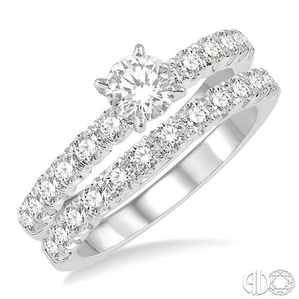 ENDLESS EMBRACE DIAMOND WEDDING SET Robert Irwin Jewelers Memphis, TN