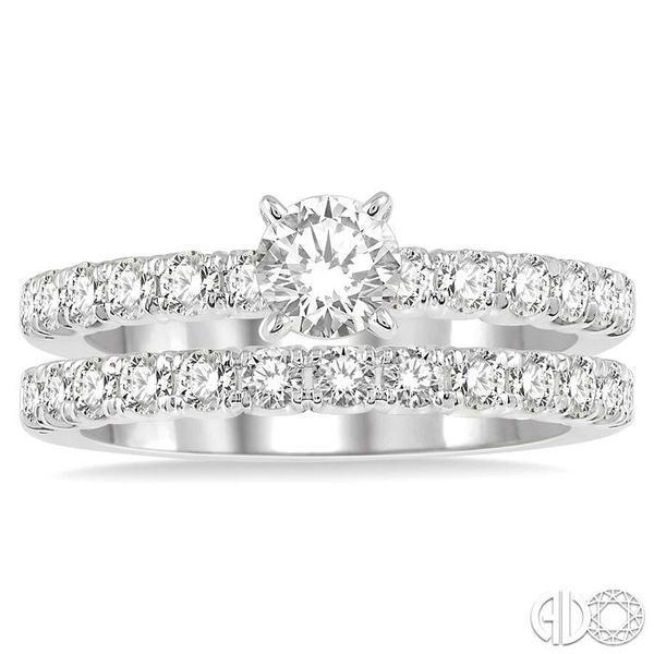 ENDLESS EMBRACE DIAMOND WEDDING SET Image 2 Robert Irwin Jewelers Memphis, TN