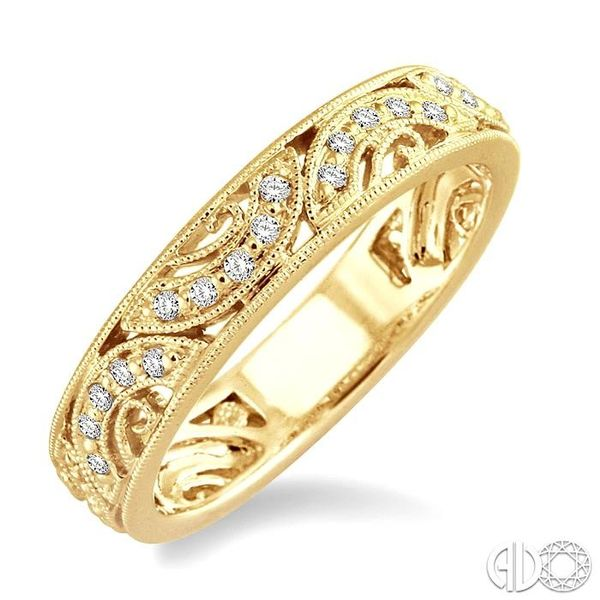 1/6 Ctw Diamond Fashion Ring in 14K Yellow Gold Robert Irwin Jewelers Memphis, TN