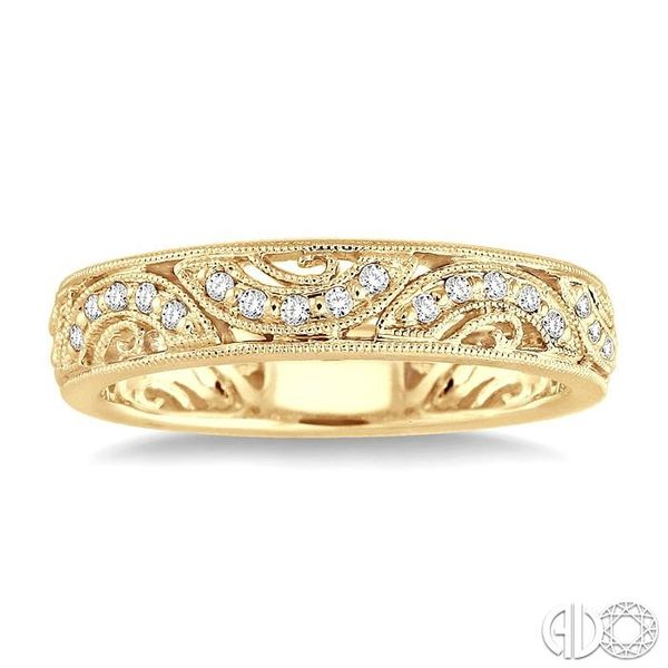 1/6 Ctw Diamond Fashion Ring in 14K Yellow Gold Image 2 Robert Irwin Jewelers Memphis, TN