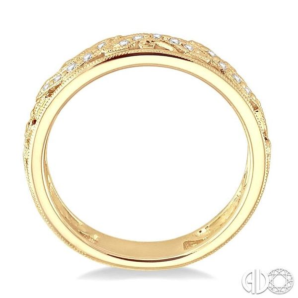 1/6 Ctw Diamond Fashion Ring in 14K Yellow Gold Image 3 Robert Irwin Jewelers Memphis, TN