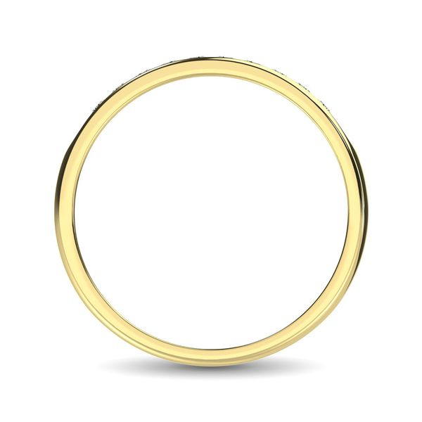 14K Yellow Gold 1 Ct.Tw. Diamond Mens Machine Band Image 4 Robert Irwin Jewelers Memphis, TN