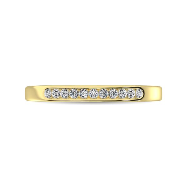 14K Yellow Gold 1 Ct.Tw. Diamond Ladies Machine Band Robert Irwin Jewelers Memphis, TN