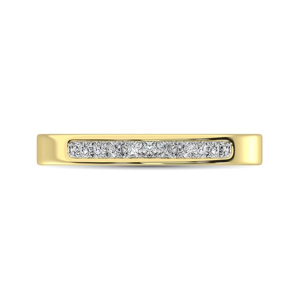 14K Yellow Gold 1/3 Ct.Tw. Diamond Ladies Machine Band Robert Irwin Jewelers Memphis, TN