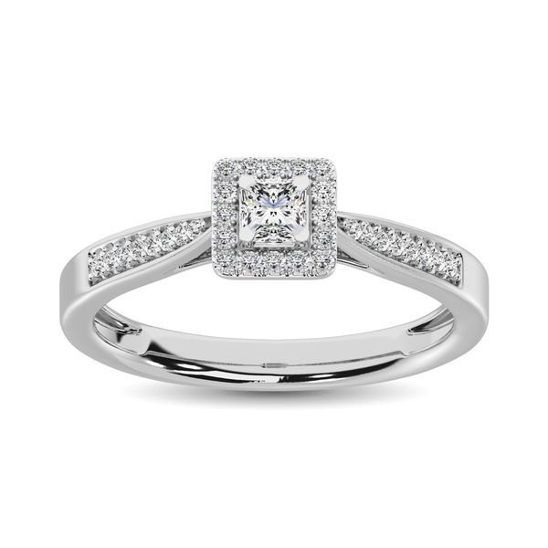 Diamond 1/6 Ct.Tw. Promise Ring in 10K White Gold Robert Irwin Jewelers Memphis, TN