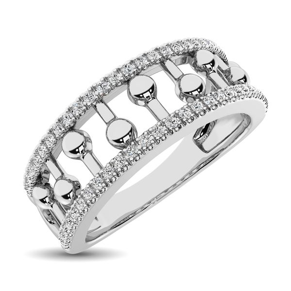 10K White Gold 1/4 Ct.Tw. Diamond Fashion Ring Robert Irwin Jewelers Memphis, TN