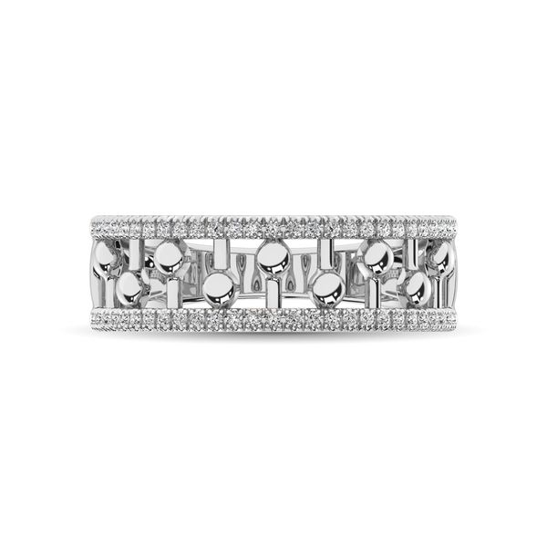 10K White Gold 1/4 Ct.Tw. Diamond Fashion Ring Image 3 Robert Irwin Jewelers Memphis, TN