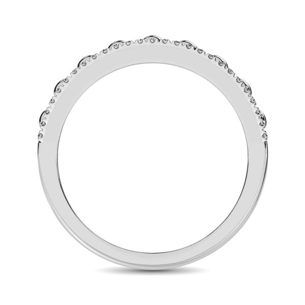 10K White Gold 1/4 Ct.Tw. Diamond Fashion Ring Image 4 Robert Irwin Jewelers Memphis, TN