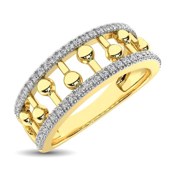 10K Yellow Gold 1/4 Ct.Tw. Diamond Fashion Ring Robert Irwin Jewelers Memphis, TN