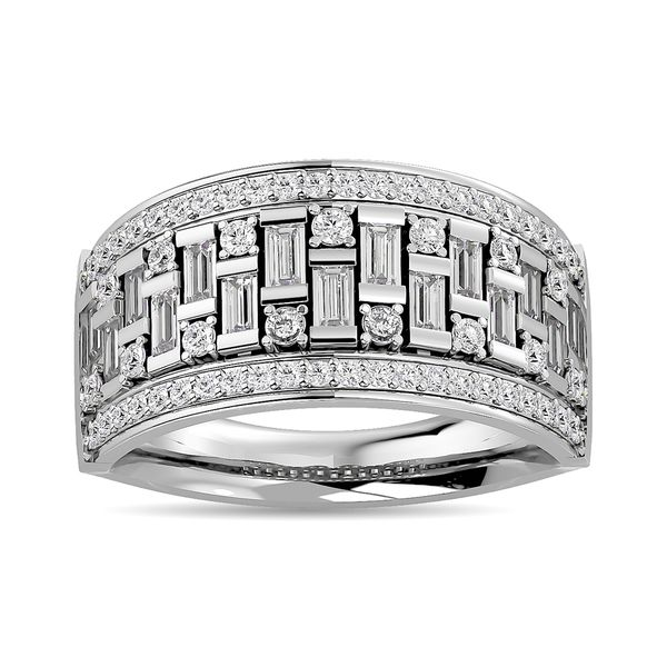 Diamond 1 5/8 ct tw Band in 14K White Gold Robert Irwin Jewelers Memphis, TN