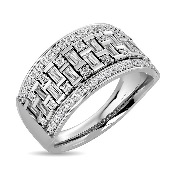 Diamond 1 5/8 ct tw Band in 14K White Gold Image 2 Robert Irwin Jewelers Memphis, TN