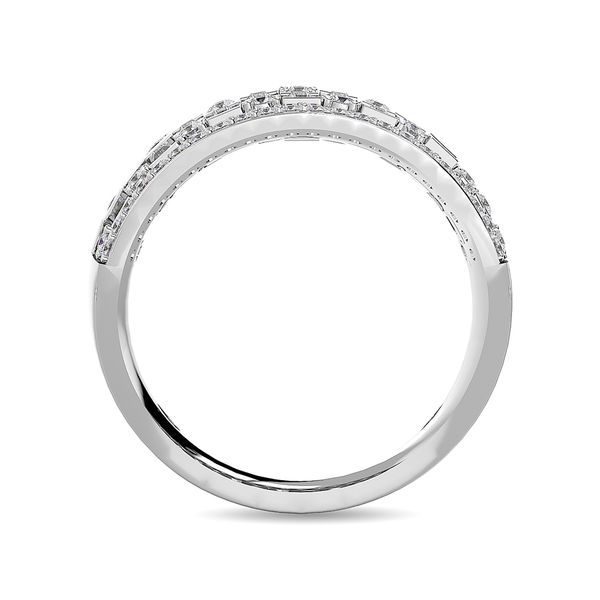 Diamond 1 5/8 ct tw Band in 14K White Gold Image 4 Robert Irwin Jewelers Memphis, TN