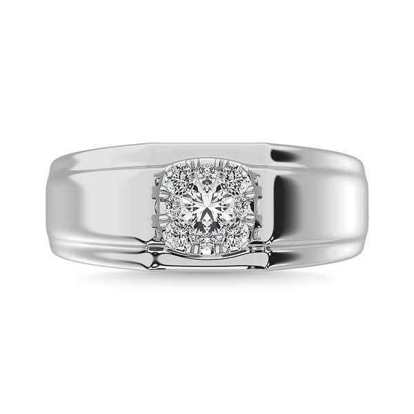 Diamond 1/2 Ct.Tw. Mens Fashion Ring Ring in 14K White Gold Robert Irwin Jewelers Memphis, TN
