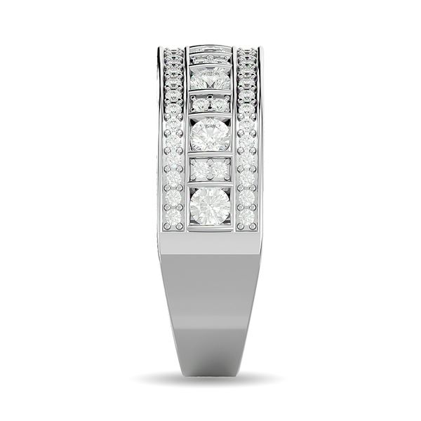 Diamond 7/8 ct tw Fashion Band in 10K White Gold Image 3 Robert Irwin Jewelers Memphis, TN