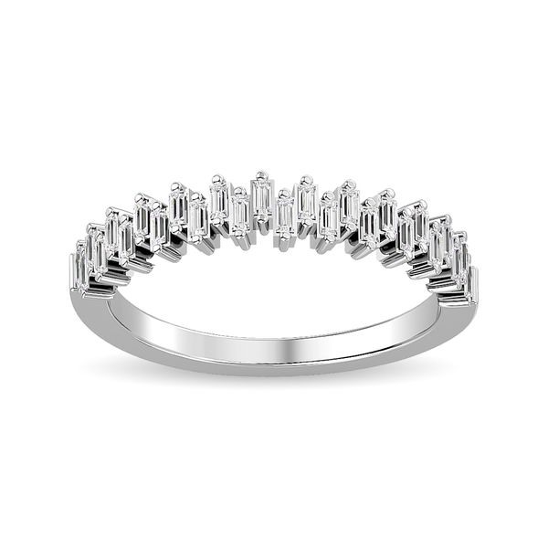 Diamond Ladies Band 1/4 ct tw in 14K White Gold Robert Irwin Jewelers Memphis, TN