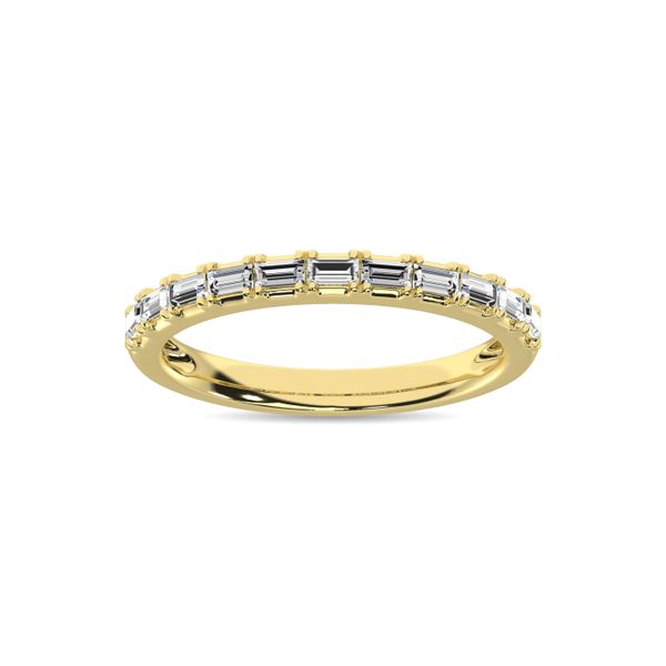 Diamond Anniversary Ring 1/50 ct tw in 14K Yellow Gold Robert Irwin Jewelers Memphis, TN
