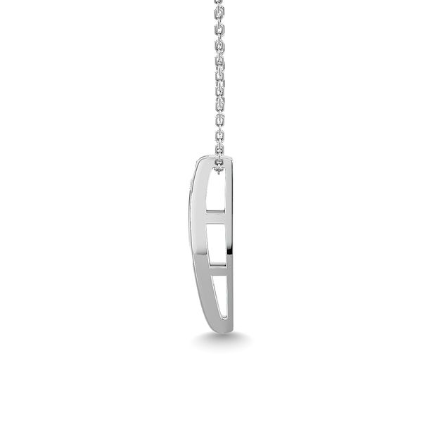 Diamond 1/3 ct tw Fashion Pendant in 14K White Gold Image 3 Robert Irwin Jewelers Memphis, TN