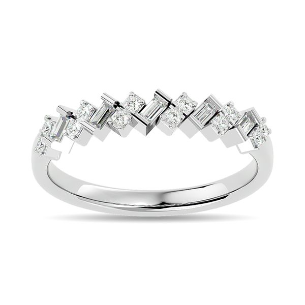 Diamond 1/5 ct tw Stackable Ring in 14K White Gold Robert Irwin Jewelers Memphis, TN