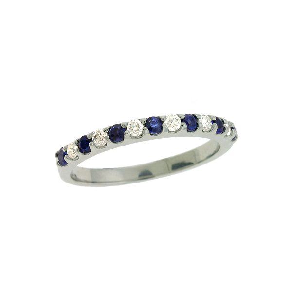 Sapphire & Diamond Ring Robert Irwin Jewelers Memphis, TN