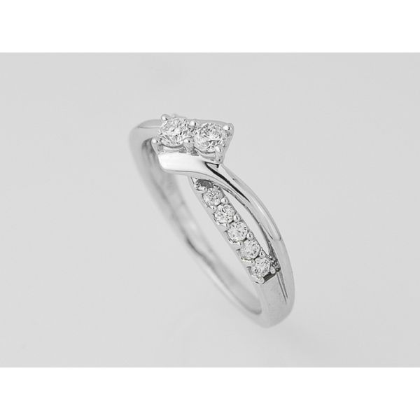 Diamond Wedding Band Image 2 Score's Jewelers Anderson, SC