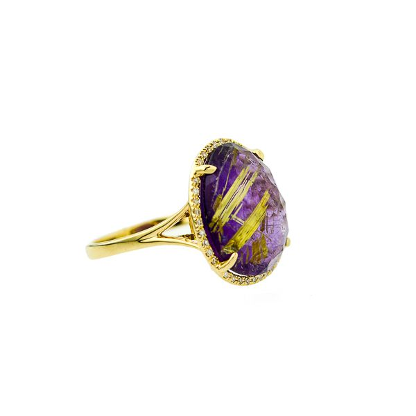 Colored Stone Ring Image 3 Score's Jewelers Anderson, SC