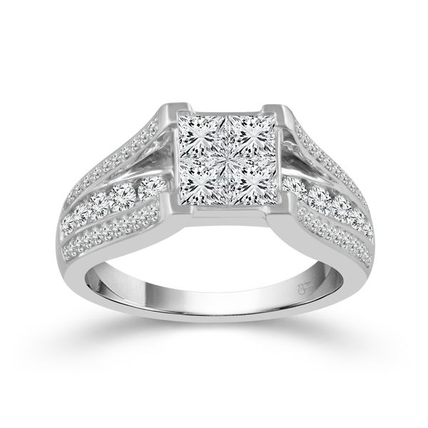 Diamond Engagement Ring Image 3 Score's Jewelers Anderson, SC
