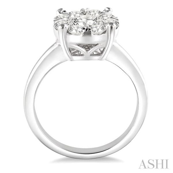 2 Ctw Lovebright Round Cut Diamond Ring in 14K White Gold Image 3 Seita Jewelers Tarentum, PA