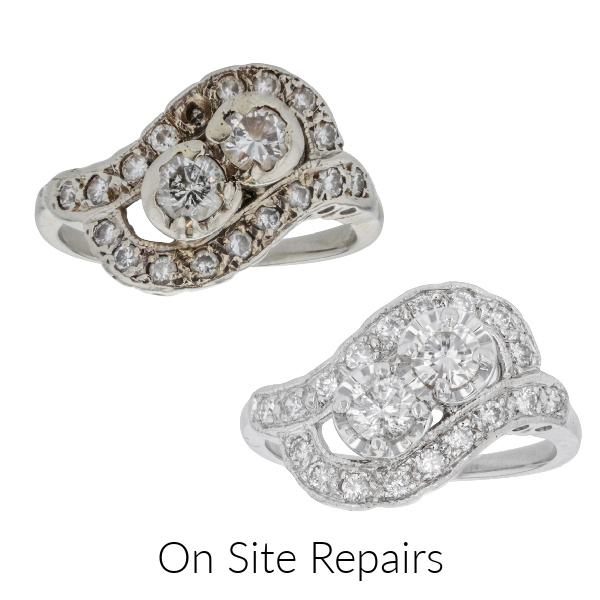Expert On Site Jewely Repairs in Ventura, CA by Fox Fine Jewelry