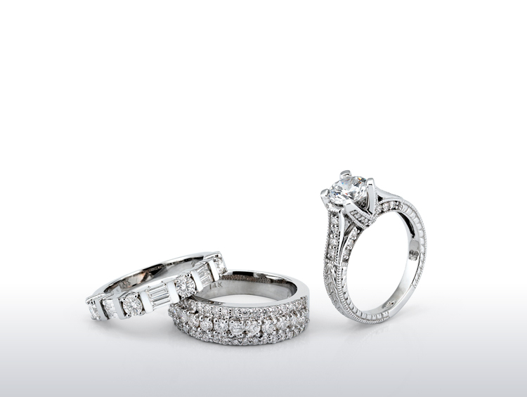 Bridal Shop our collection of bridal jewelry. J. David Jewelry Broken Arrow, OK