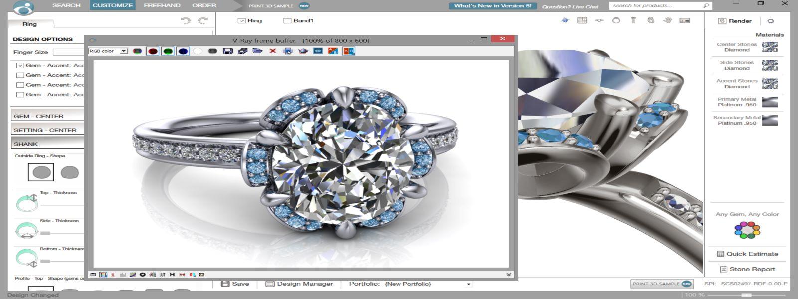 DESIGN WITH US This banner image is 1600 x 600 pixels on desktop Mark Jewellers La Crosse, WI