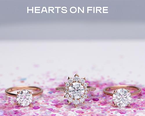 Hearts on Fire Diamond Rings