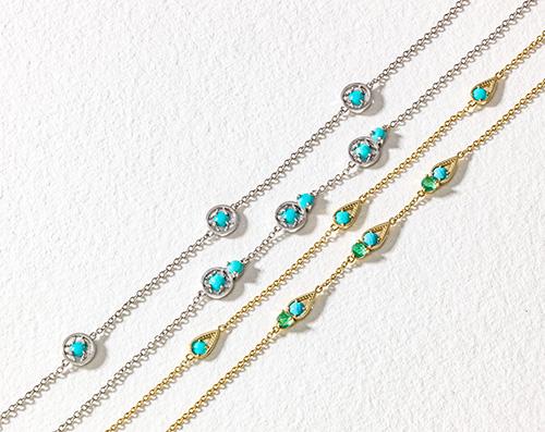 Tacori Petite Gemstones in Chains